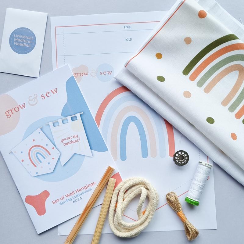 Rainbow-Wall-Hanging-Sewing-Kit